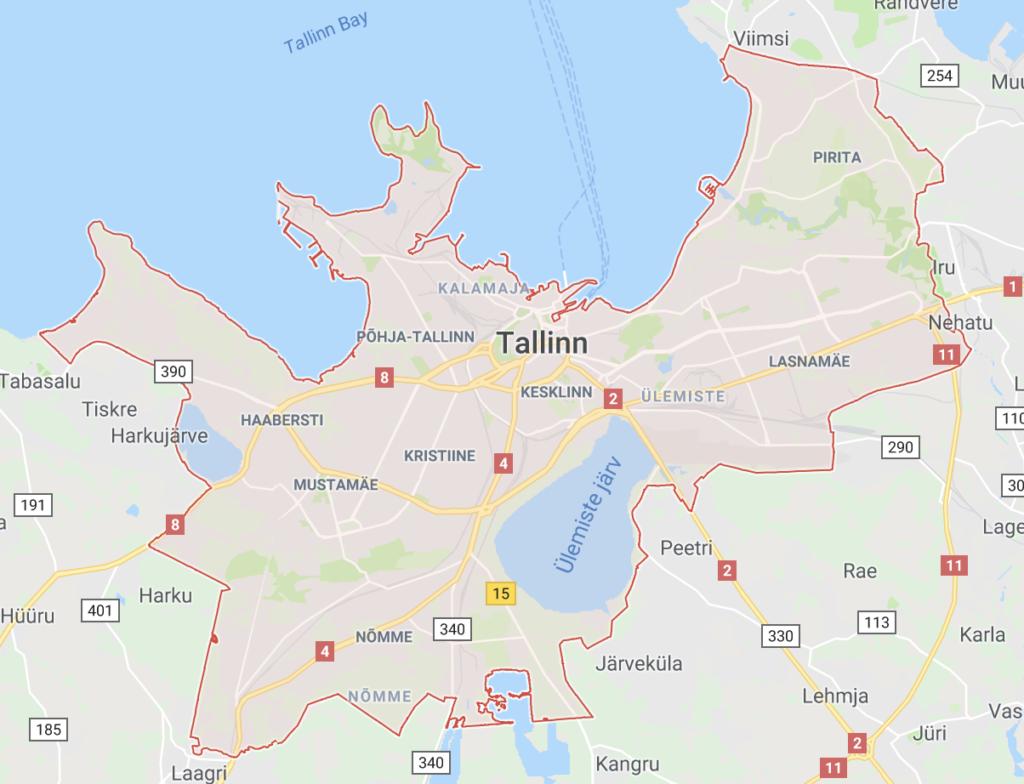 Lillekuller Tallinnas