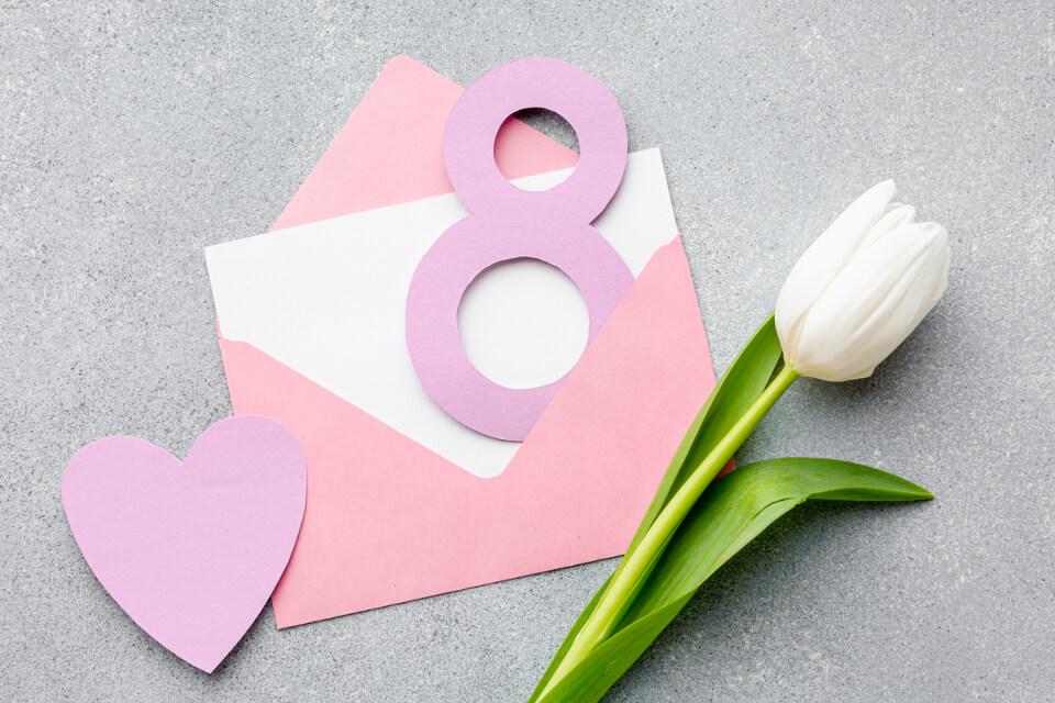 lilled naistepäevaks